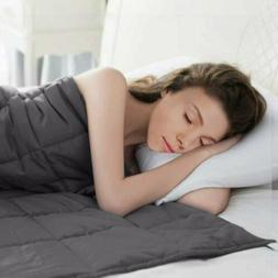 """20 lbs Weighted Blankets 60""""x80"""" Twin/Full/Queen Weighted"""