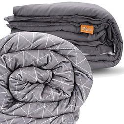 """rocabi 30 lbs Adult Weighted Blanket & Two Cover Set 60""""x80"""""""