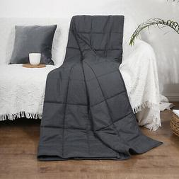 48 x72 weighted blanket 15lbs reduce stress