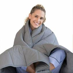 "60"" x80"" Weighted Blanket 15lbs 20lbs Full Queen Size Reduce"