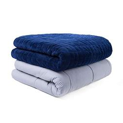 Weighted Idea Luxury Weighted Blanket with Removable Cover  