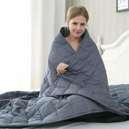 """Adult Weighted Blanket 48 x 72"""" / 60 x 80"""" Queen/Full Reduce"""