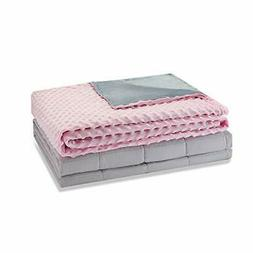 Weighted Idea Adult Weighted Blanket Queen Size with Cover 1