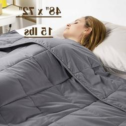 anxiety weighted blanket 48 x 72 twin
