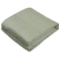 Weighted Idea Bamboo Weighted Blanket | 55''x80'' | 20 lbs f