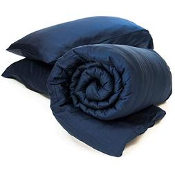 truHugs Bamboo Weighted Blanket - Cool Sensory Blanket for A