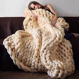 StrongLife Blankets - Hot Knitted Blanket Adult Plush Sofa S