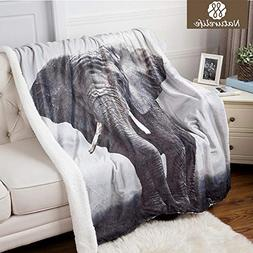 StrongLife Blankets - Naturelife Sherpa Double Layer Blanket