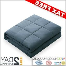 Cool Weighted Blanket 60x80 in. 15lb for 120-180lb Insomnia