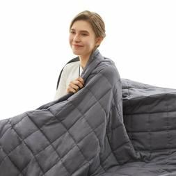 Weighted Idea Cooling Weighted Blanket 15 Lbs For Kids And A