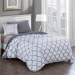Royhom Embossed Duvet Covers for Weighted Blanket with Zippe