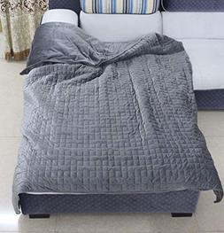 F.Y.Dreams Duvet Cover for Weighted Blanket 60x80 inches wit