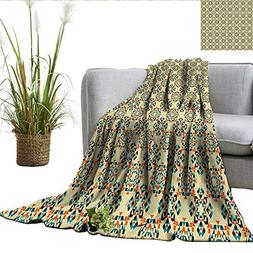 smllmoonDecor Geometric Degrees of Comfort Weighted Blanket