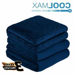 15lbs 20lbs Adult Weighted Blanket / Cover Full Queen Size P