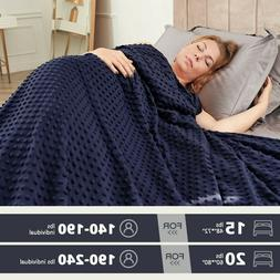 heavy gravity weighted blanket 15 20 lb
