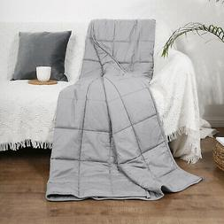 Weighted Blanket for Adults Children Fall Asleep Faster & Be