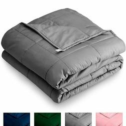 Heavy Weighted Blanket 60''x80'' 25lb Reduce Stress Promote