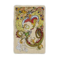 Home Decor Chinese Style Dragon and Phoenix with a Pearl Bal