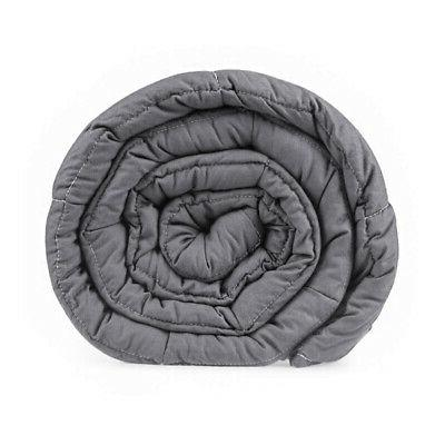 """12 lbs 72"""" Blankets Weighted Adults Glass"""