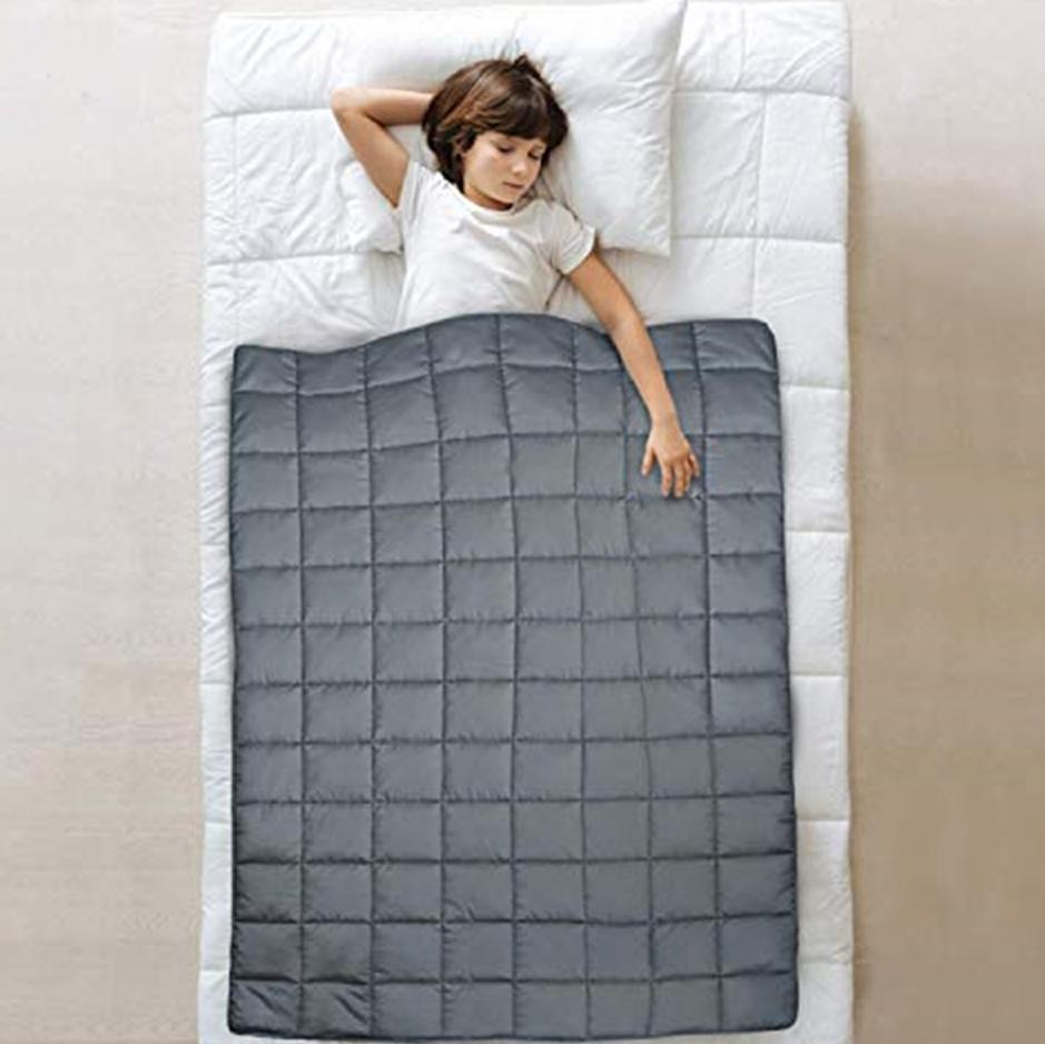 7-10lbs Twin/Full Size Weighted Sensory Blanket for 30-60lb