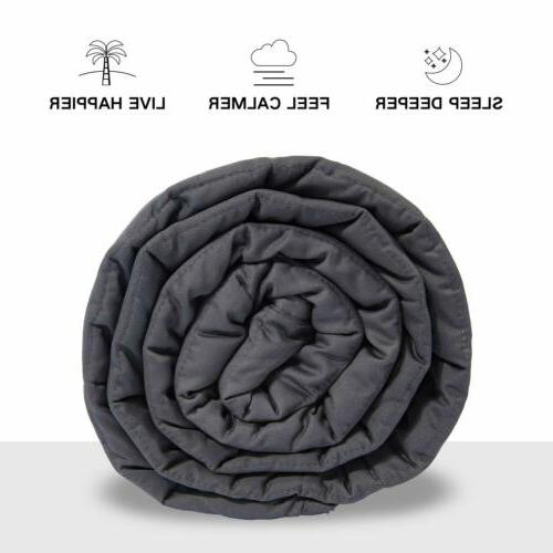Deluxe Weighted Blanket Duvet Removable Anxiety