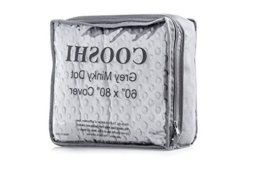 Cooshi Duvet Cover for Weighted Blankets - 60 x 80 - Soft Mi