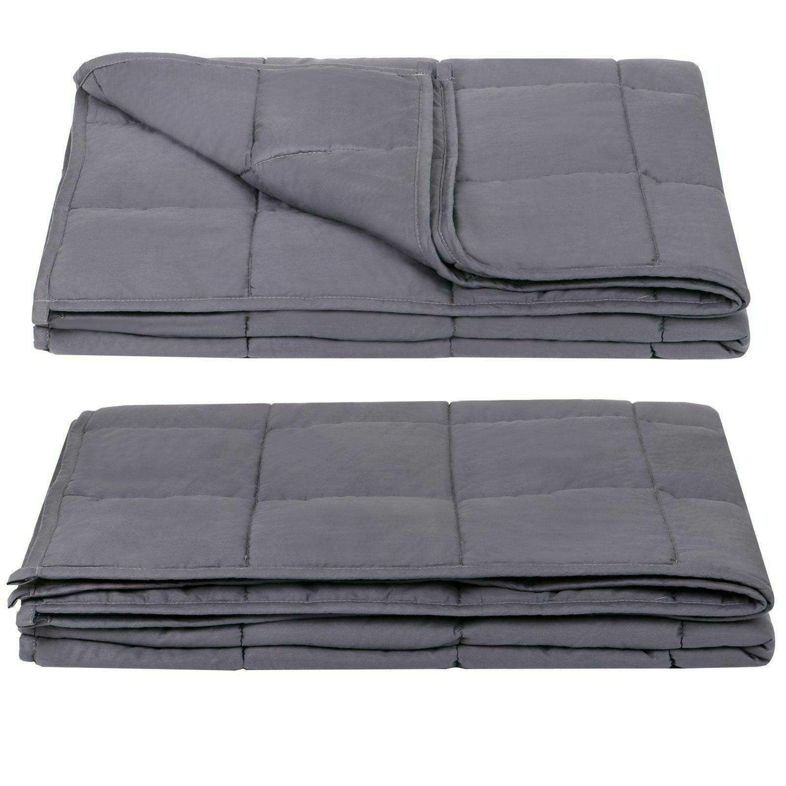 """Full Size Stress Promote Deep Sleep60""""x80"""" Weighted"""