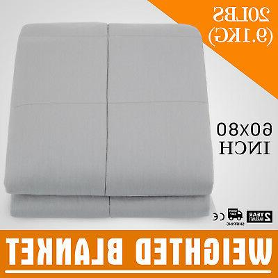 heavy sensory weighted blanket 20 lbs 60