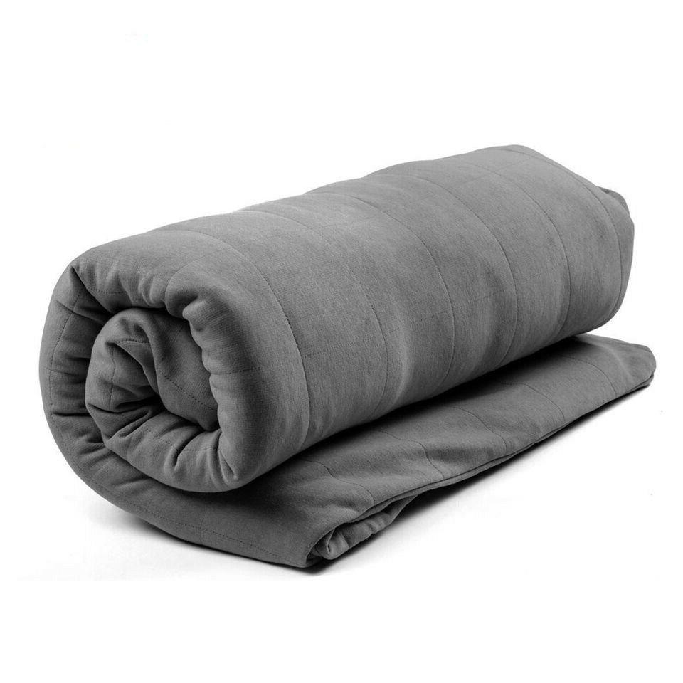 hefty temperature balancing weighted blanket 12lbs 15lbs