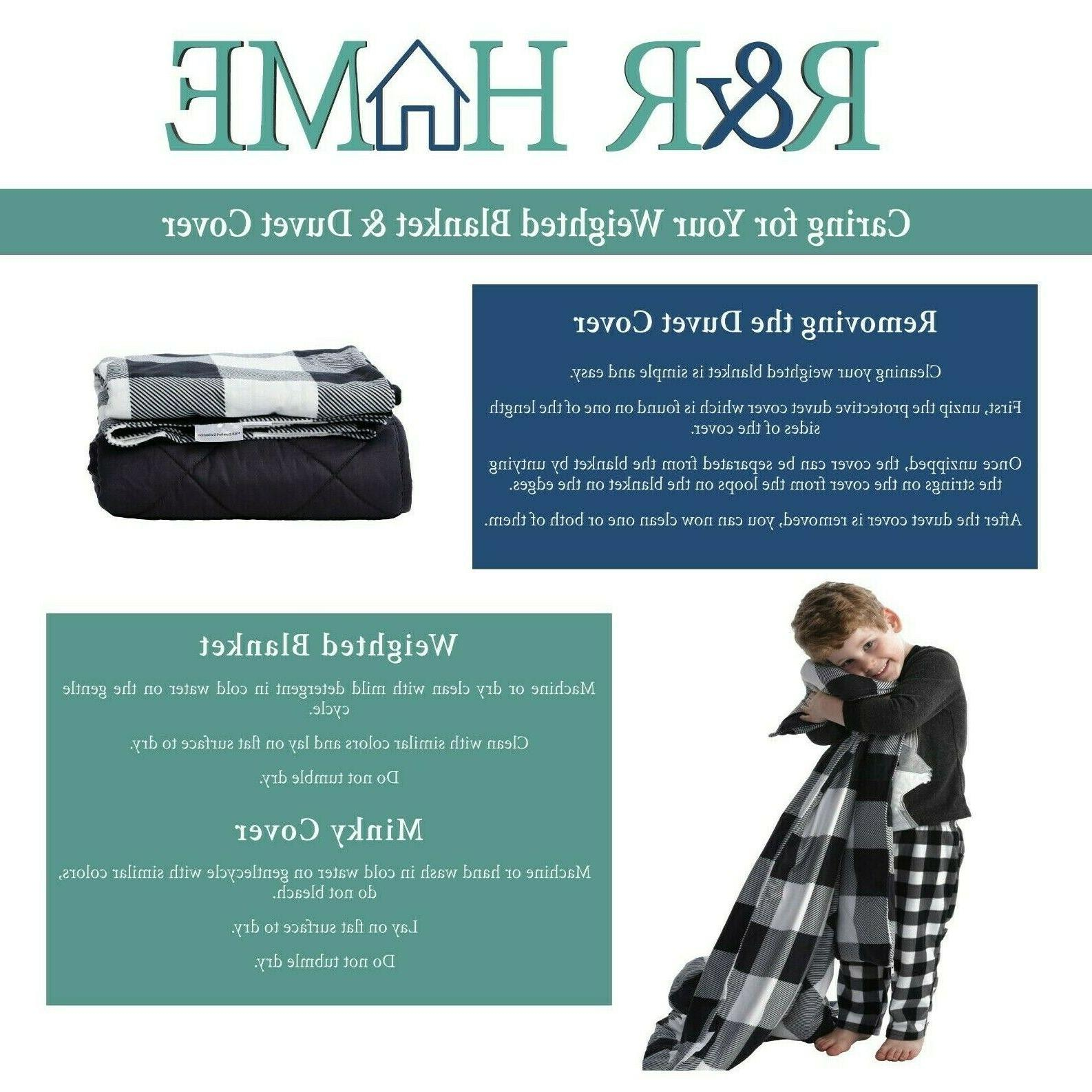 Weighted Blanket w/ Cover | | 5 lbs