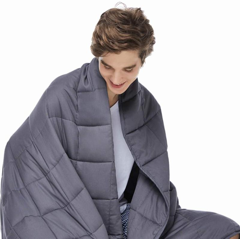 king size weighted blanket 20lbs 80 x87