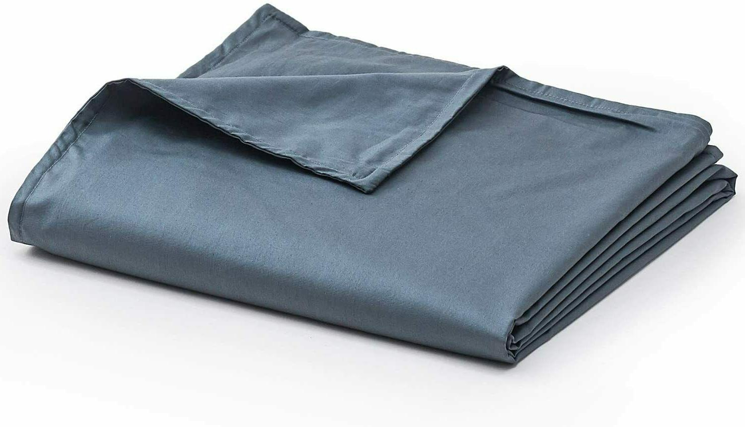 new cotton duvet cover for weighted blankets