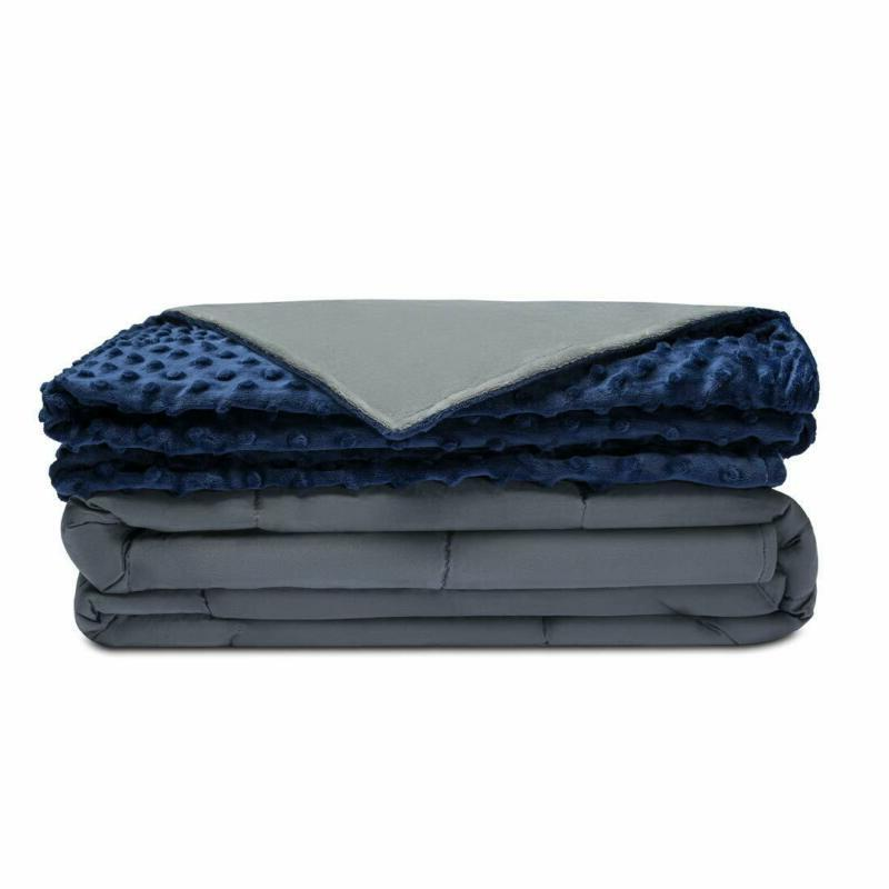 Quility Premium Adult Weighted Blanket  Removable Cover | 20