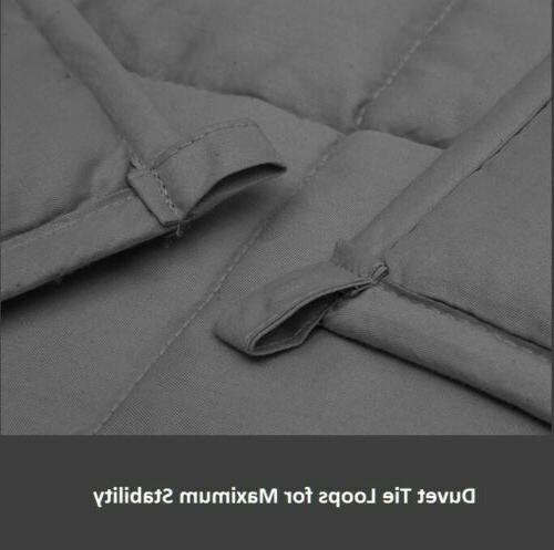 Premium Weighted Blanket 25 x Natural   Deeper