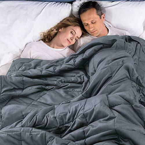 premium xl king weighted blanket 25 lbs