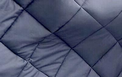 GSLE Weighted Blanket Twin Size Grey 12 lbs