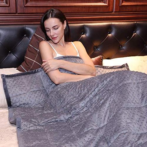 """Kpblis Weighted Blanket lbs 48"""" x Size for Adults,"""