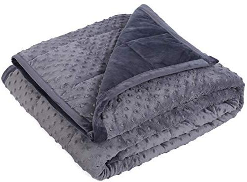 weighted blanket 15 lbs 48 x 72