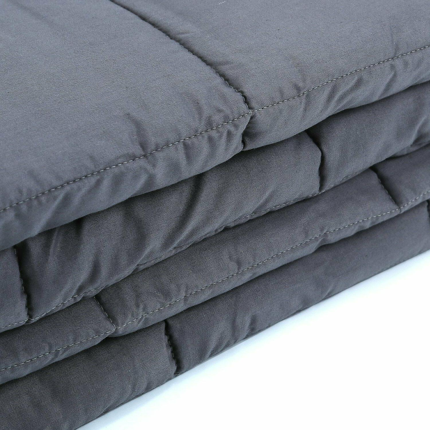 "Weighted x 80"", ,40''x60'' Heavy Cotton Blanket"