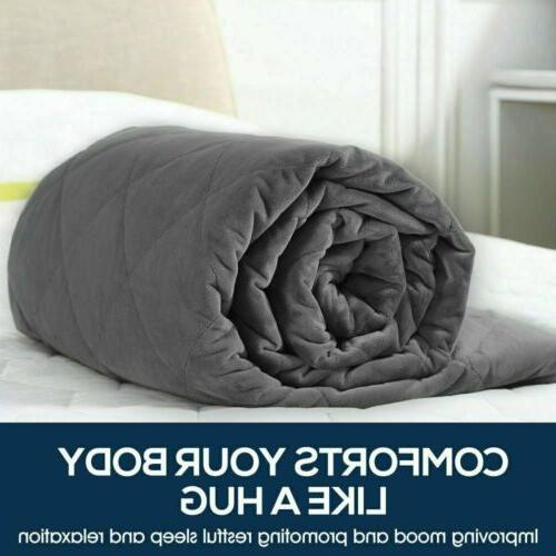 """60""""X80"""" Weighted Blanket Promote With 15lb"""