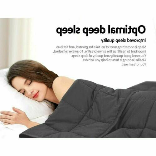 """60""""X80"""" Weighted Promote Sleep With"""