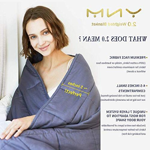 YnM 2.0 Blanket 100% Cotton Material with Glass Beads.