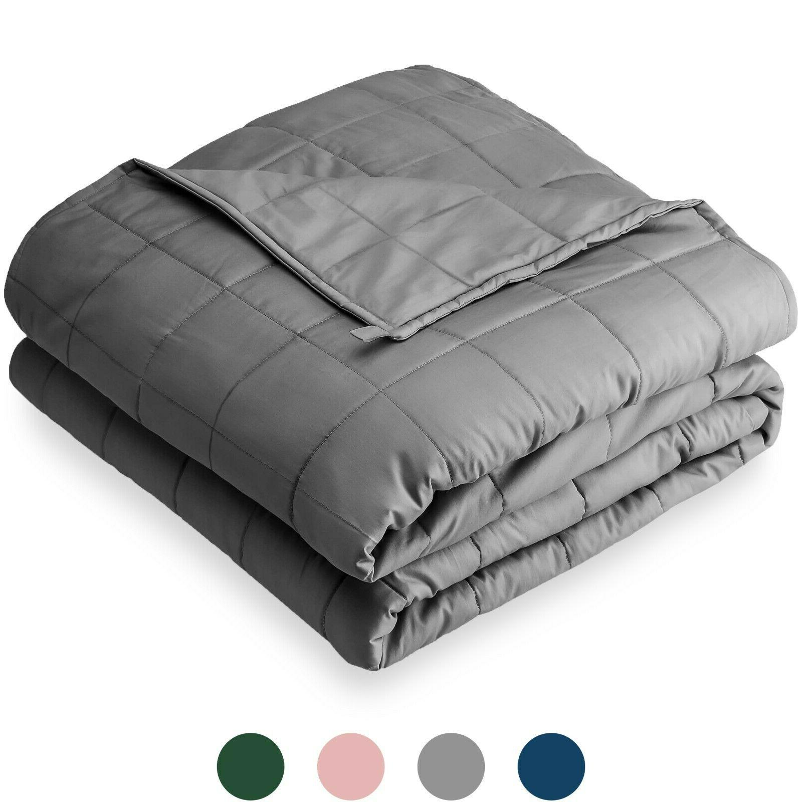 weighted blanket all natural 100 percent cotton
