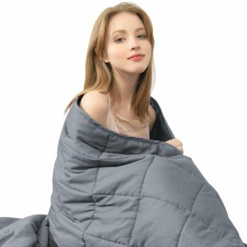 weighted blanket 100 percent cotton heavy blanket