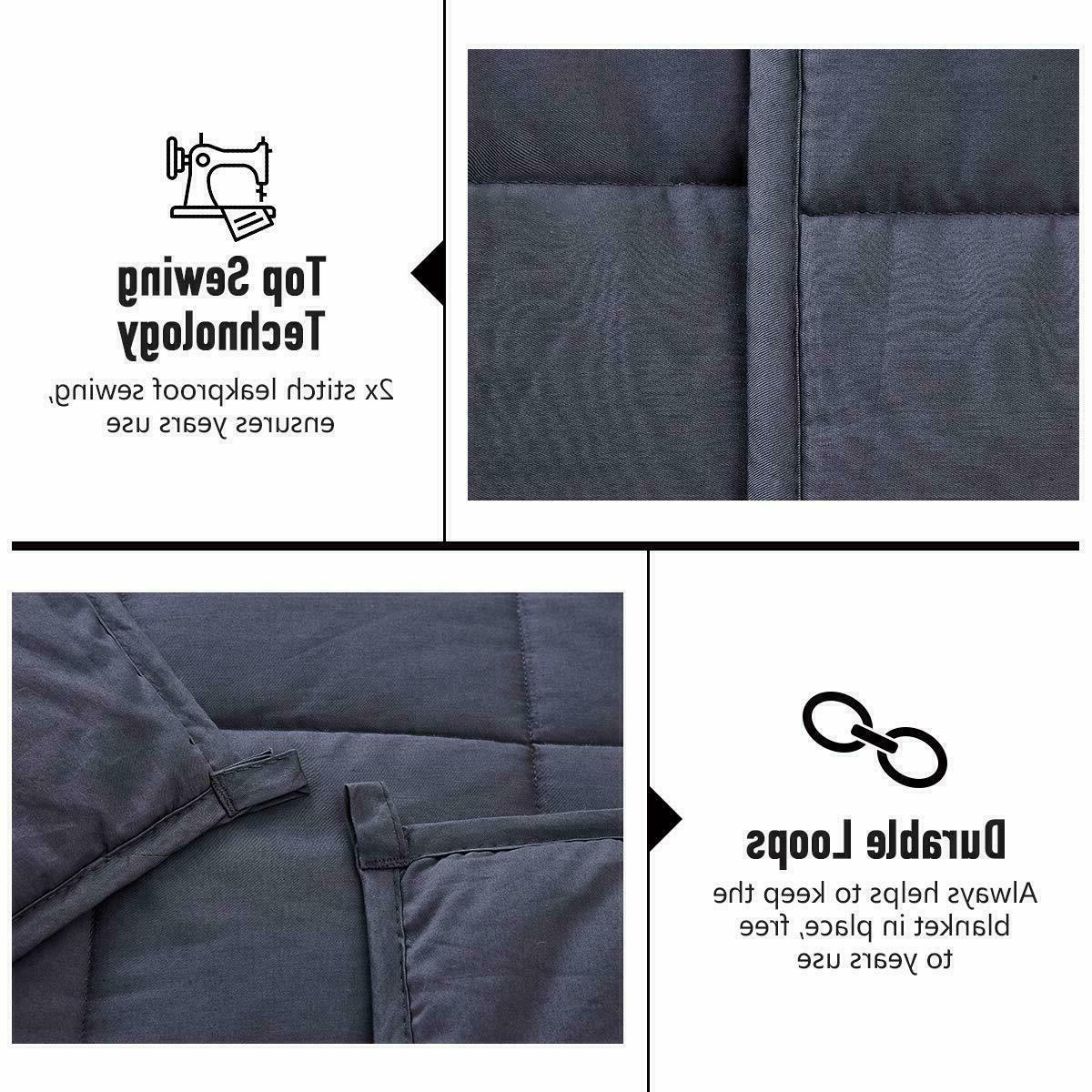 Weighted Blanket Reduce Full king Deep Beads
