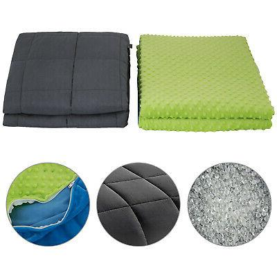 weighted blanket with duvet cover 60x80 15