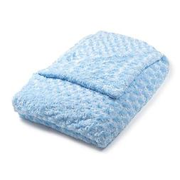 Light Blue Chenille Magic Weighted Blanket | The World's 1st