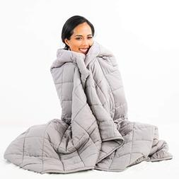 "Nuzzie [New 2019 Weighted Blanket | 15lb - 60""x80"" 