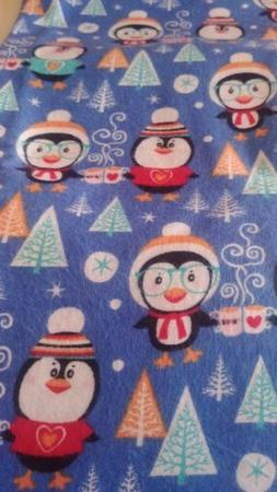 Penguins weighted blanket 5 lbs 36 x 42