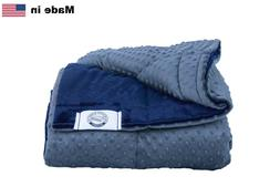 Queen Size Weighted Blanket -Made in USA- Many Sizes & Color